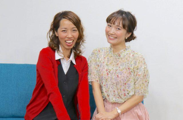 写真左:吉盛さん、右:上原さん