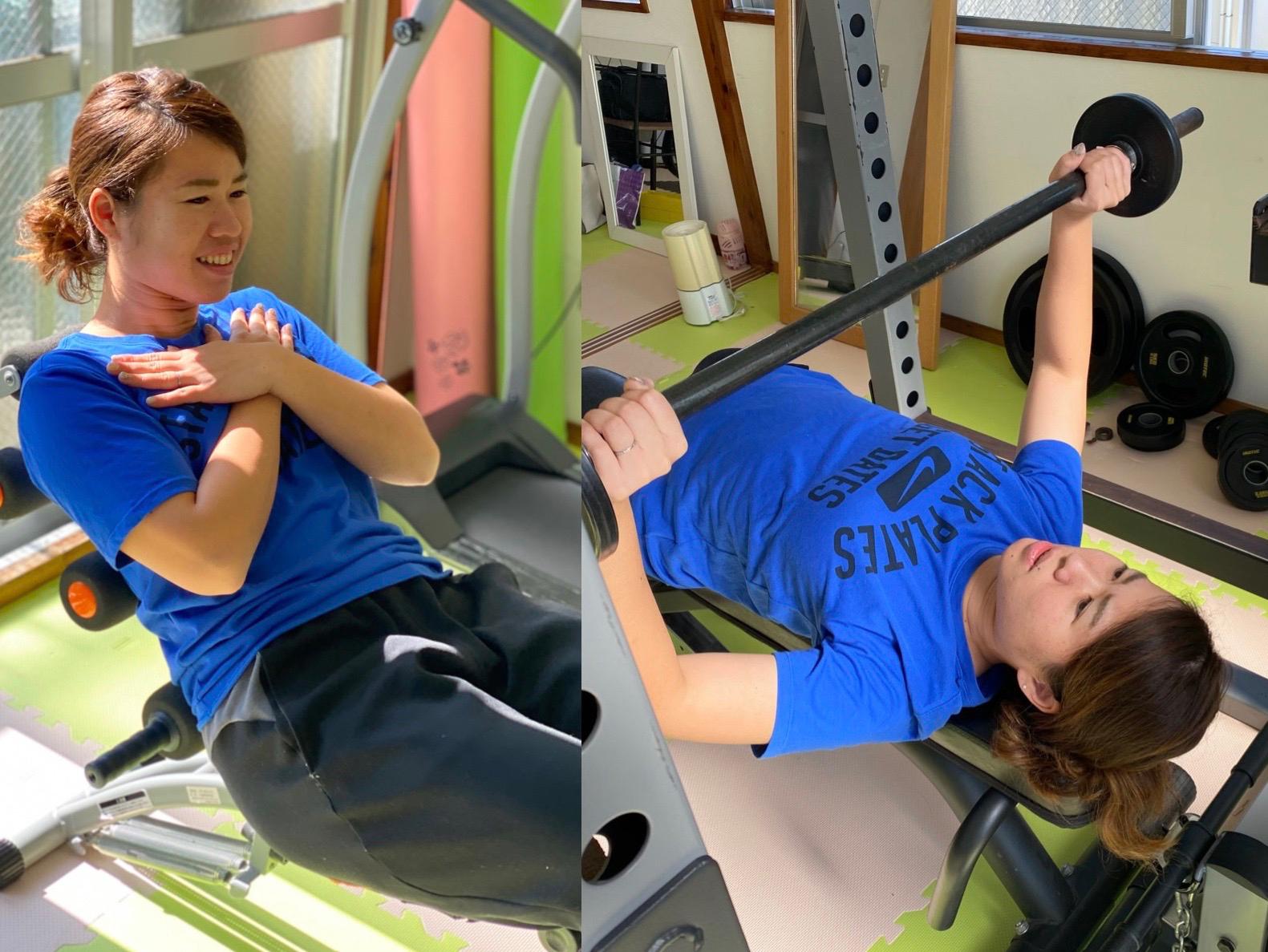 最近、体重増加が気になる翁長がサーキットトレーニングを体験